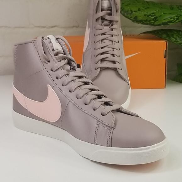 Nike Blazer Mid Premium 'Pumice Echo Pink' Shoes